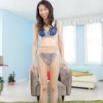 ガリガリ熟女・細川早苗(52歳)エロビデオデビュー